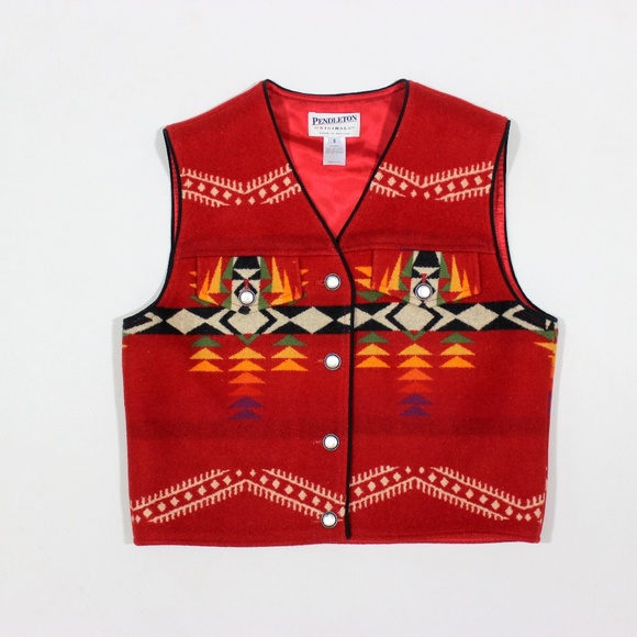 Pendleton Jackets & Blazers - Pendleton Navajo Southwest Vest Jacket Wool USA